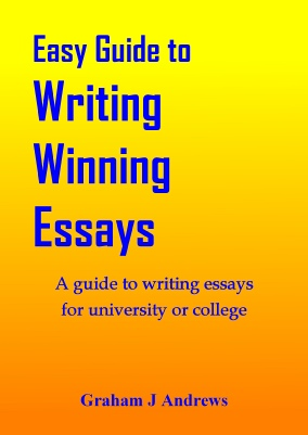 Writing Winning Essays, A guide to writing essays for university or collage, by Graham Andrews, best selling author in the Geelong area of Victoria